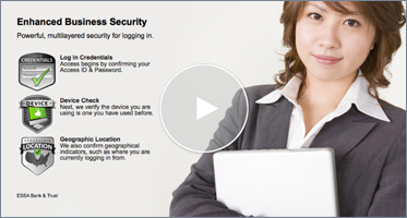 Interactive Video Player on Enhanced Business Security